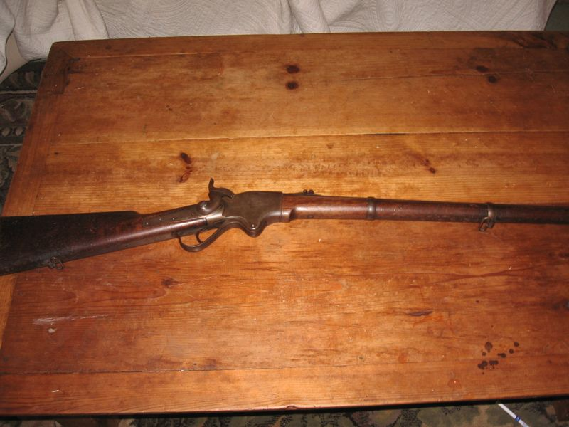 Left full view spencer rifle pics 004
