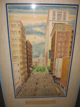 Broughton street painting riedel